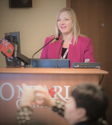 Jean Lucas at CCTIA event