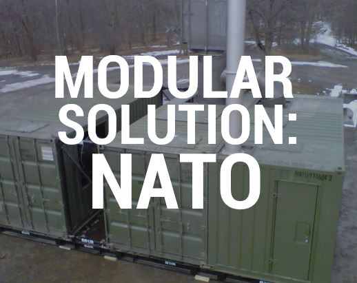 Modular waste management solutions for NATO by Eco Waste Solutions