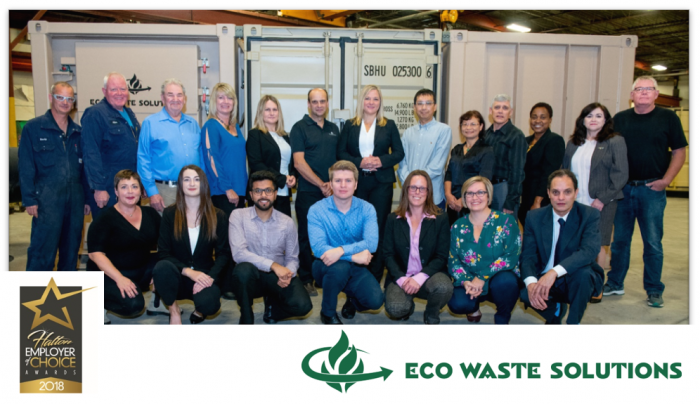 Burlington's Eco Waste Solutions wins Employer of Choice 2018