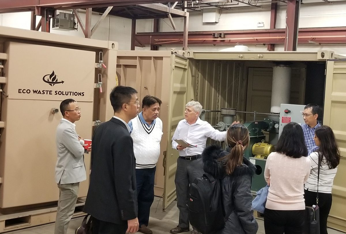 Canadian Trade Commission visit to Eco Waste