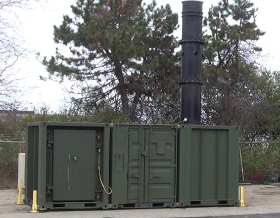 ESDWS Mobile Waste Incinerator